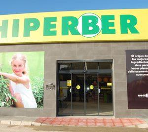 Hiperber cierra el año con un 6% más de planta comercial y 67 supermercados