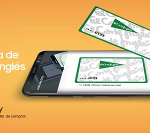 La tarjeta de El Corte Inglés supera las 100.000 operaciones con Samsung Pay