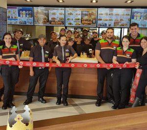 Megafood cierra el año con 76 franquicias de Burger King