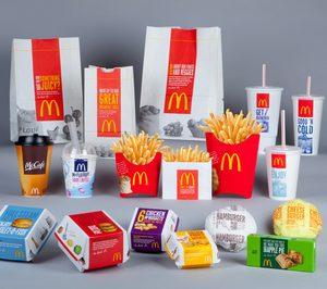 McDonalds alcanzará en 2025 el 100% de envases reciclables