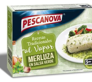 Pescanova lanza una gama de recetas de merluza para microondas