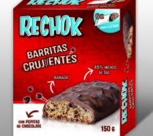 Arluy lanza su primera barrita de galleta cubierta de chocolate