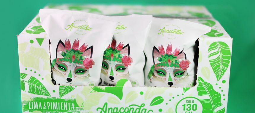 Anaconda Foods entra en snacks con sus palomitas saludables