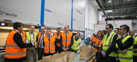 Werfen inaugura oficialmente su centro logístico de Tarancón