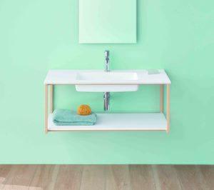 Hi-Macs protagoniza la primera colección de mobiliario de Sanycces