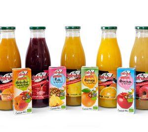 Cofrutos amplía su oferta de zumos ecológicos