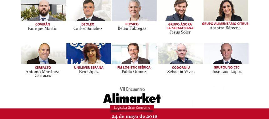 Encuentro Alimarket Logística, eficiencia y digitalización para la nueva Supply Chain