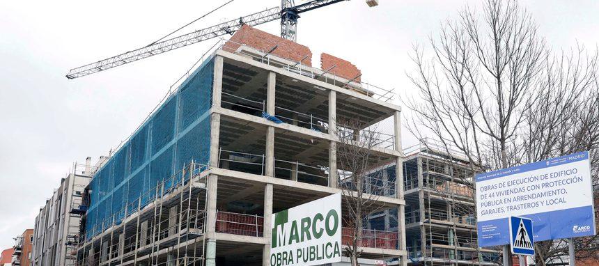 La EMVS de Madrid desarrolla 30 promociones con 2.373 casas