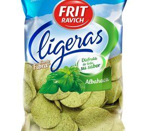 Frit Ravich incorpora el sabor  albahaca a las referencias de 'Ligeras