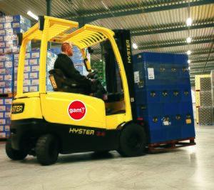GAM comienza a distribuir Hyster con el equipo de la antigua Berge Manutención