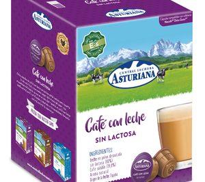 Capsa lanza cápsulas de café con leche Asturiana