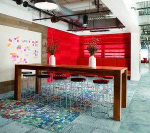 Interface lanza los pavimentos textiles Human Connections