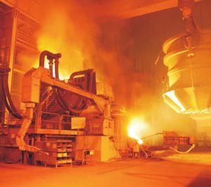 La producción de acero creció un 5,7% en España durante 2017