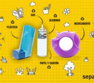 Separ y Sigre impulsan el reciclaje de inhaladores