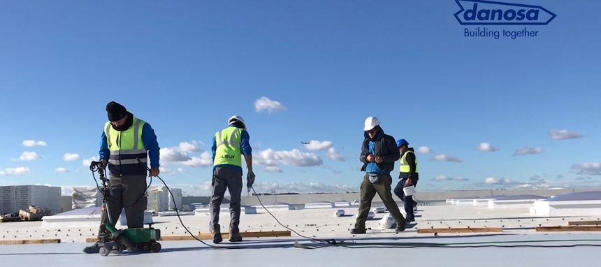 Danosa participa en el nuevo centro logístico Talus Real Estate en Madrid
