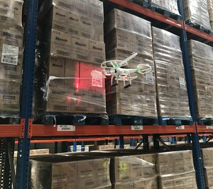Los drones se cuelan en los almacenes de productos de gran consumo
