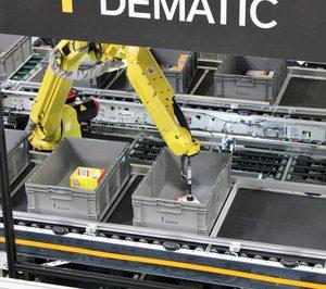 Dematic apuesta por soluciones robóticas con la creación de una nueva división