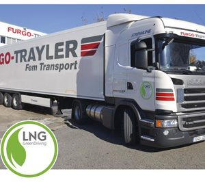 Furgo Trayler apuesta por la sostenibildad con vehículos GNL