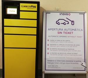 Correos instala sus CityPaq en una treintena de aparcamientos