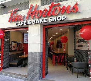 Tim Hortons continúa su expansión en España abriendo su sexto local en Madrid