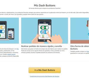 Amazon lanza los Dash Buttons virtuales