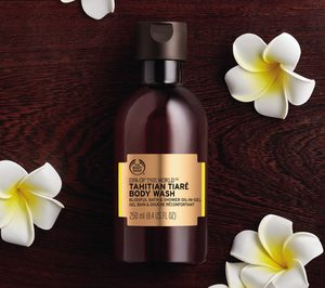 The Body Shop amplía Spa of the World con cuatro geles de ducha