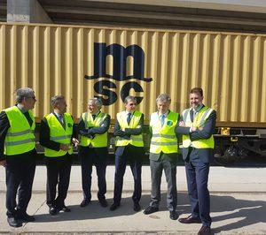 Boluda y MSC se alían en una nueva ruta ferroviaria en Sevilla