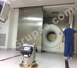 Grupsa presenta su nueva puerta automática hospitalaria