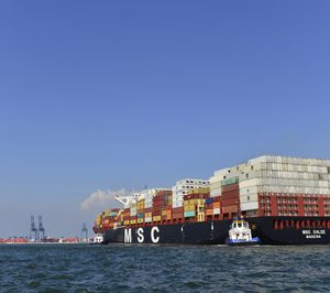 El tráfico marítimo de mercancías creció un 7,1% en enero y febrero