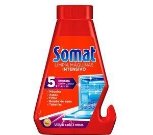 Somat Aditivos presenta su renovada imagen en limpia lavavajillas
