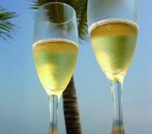 El mundo bebe tanto champagne como Francia
