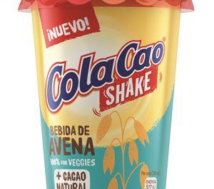 Cola Cao Shake suma dos variedades vegetales