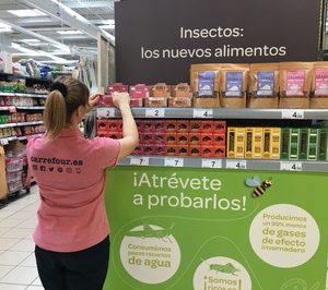Carrefour lanza una nueva gama de alimentos elaborada a base de insectos