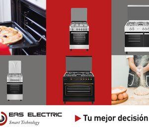 Eas Electric presenta su nueva gama de cocinas