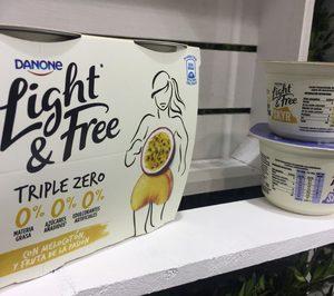 Danone triplica la tendencia zero en yogures