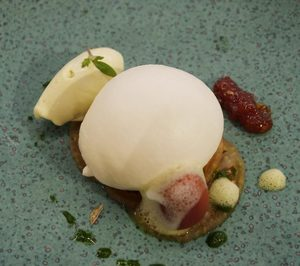 'La menorquina' presenta su nueva base para elaborar helados salados