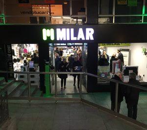 Caslesa inaugura una tienda Milar en Palencia