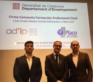 Saint-Gobain Placo y ADIP firman el primer convenio de FP Dual