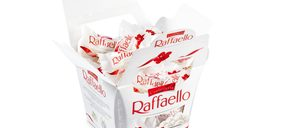 Ferrero desestacionaliza los bombones Raffaello