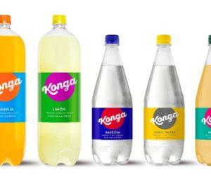 Los refrescos Konga renuevan su imagen