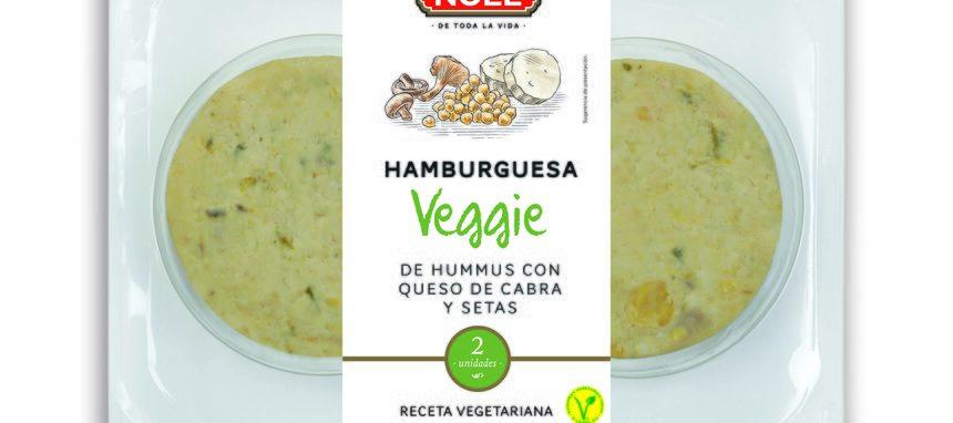 Noel presenta las hamburguesas Veggie y pavo con súper foods