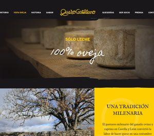 Queso Castellano lanza su nueva web promocional