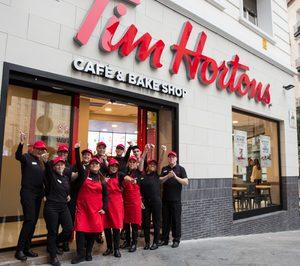 Tim Hortons sigue creciendo en la capital