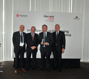 IQS recibe un reconocimiento por su colaboración con Hispack