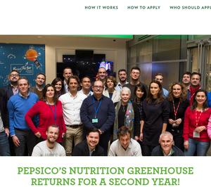 Pepsico apoya a las marcas de alimentación y bebidas del futuro