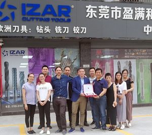 Izar Cutting Tools aterriza en China