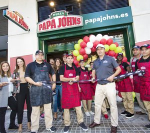 Papa Johns alcanza los 50 restaurantes en España