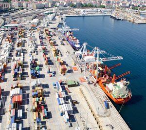 Los tráficos en los puertos españoles crecieron un 6,4% en el primer trimestre
