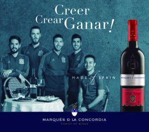 Marqués de la Concordia, el vino de la selección de fútbol hasta 2020