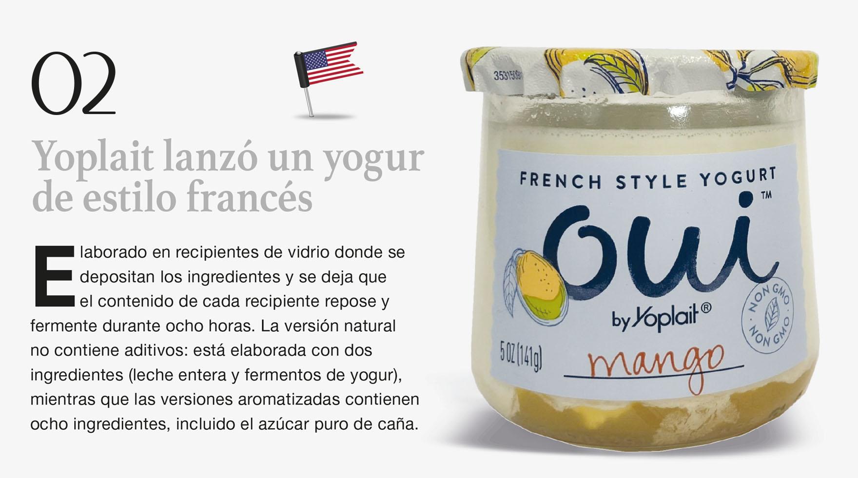 Yoplait lanzó un yogur de estilo francés